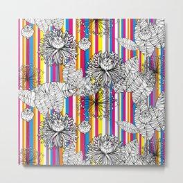 Papoula Metal Print