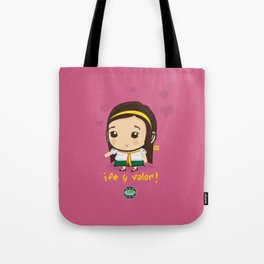 Cute Girl Master Guide Tote Bag