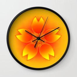 Panda Paw Paw (Strong Style Sakura) Wall Clock
