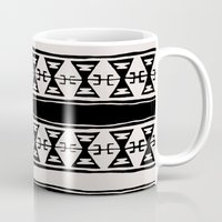 kilim Mugs featuring Cleveland 6 by Little Brave Heart Shop