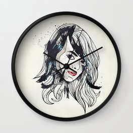 Leathers Wall Clock