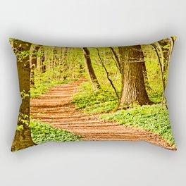 A winding way Rectangular Pillow