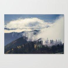 Mountain Clouds Canvas Print
