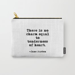 Tenderness of heart - Jane Austen Carry-All Pouch