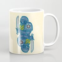 warhammer Mugs featuring Space Marine - Warhammer 40k by M. Gulin