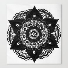 Flower Mandala Number 2 Canvas Print