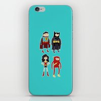 league iPhone & iPod Skins featuring Adventure League by randallmaynard