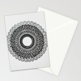 A4 Mandala 4 Stationery Cards