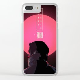 Blade Runner 2049 poster Clear iPhone Case
