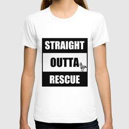 Straight Outta Rescue T-shirt