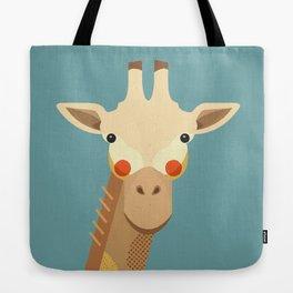 Giraffe, Animal Portrait Tote Bag