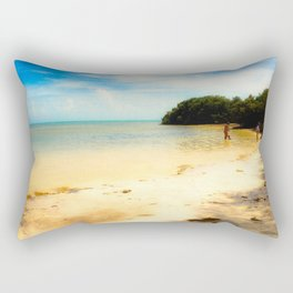 The Florida Keys, Anne's Beach Rectangular Pillow