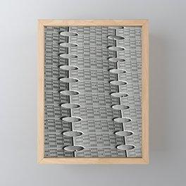 Sur le Ponton Framed Mini Art Print