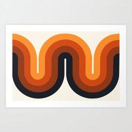 Amber Waves Art Print