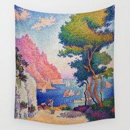 """Paul Signac """"Capo di Noli"""" Wall Tapestry"""