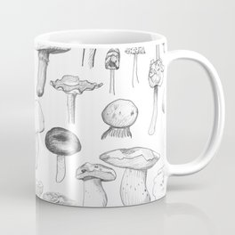 The mushroom gang Coffee Mug