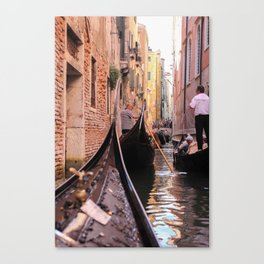 Adventure in Gold Canvas Print