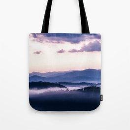 Ultra Violet Lights Tote Bag