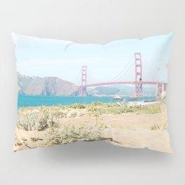 Golden Gate Bridge Beach Pillow Sham