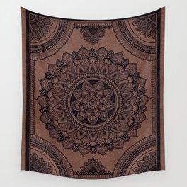 Mandala on Masonite I Wall Tapestry