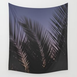 Sunset Silhouette Wall Tapestry