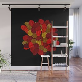 """""""Color Skein"""" Wall Mural"""