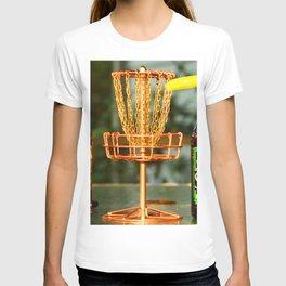 Disc Golf Basket Beer Innova Discraft Vibram Most fun T-shirt
