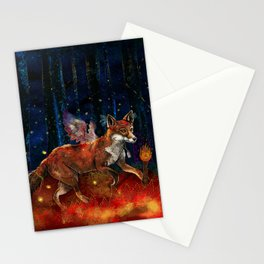 The Origin of Fire Stationery Cards