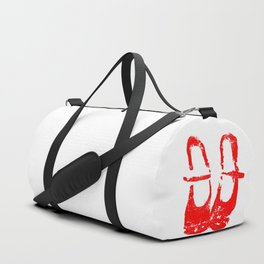 Red shoes Duffle Bag