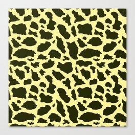 Giraffe paatern 3 Canvas Print