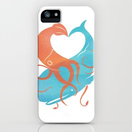 Hug It Out iPhone Case