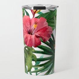 FLOWERS WATERCOLOR 8 Travel Mug