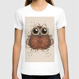Coffee Bean Beans owl T-shirt