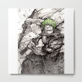 Zoro! Metal Print