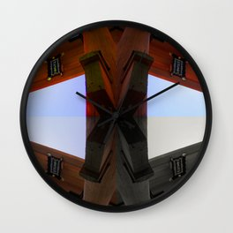 Four Corners (Japan) Wall Clock