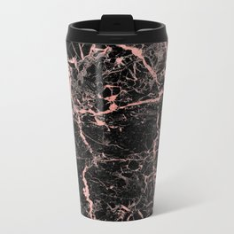 Marble Rose Gold - Someone Metal Travel Mug
