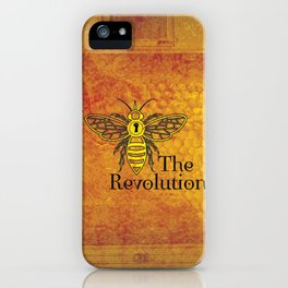 Bee the Revolution iPhone Case