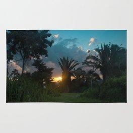 Jungle Sunrise Rug