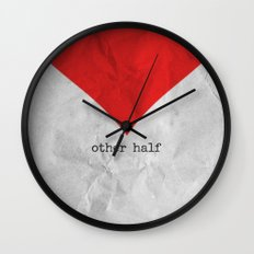 find you half (part 2 of 2) Wall Clock