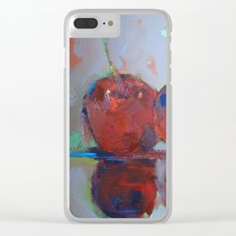 Cozying along Clear iPhone Case