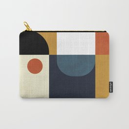 mid century abstract shapes fall winter 4 Carry-All Pouch