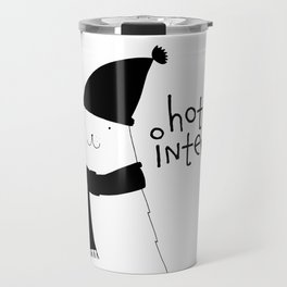 Scandinavian style bear art Travel Mug