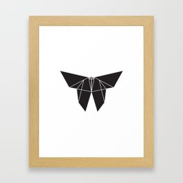 Origami Butterfy Framed Art Print