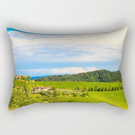 The beautiful vineyard of Collio, Friuli Venezia-Giulia, Italy Rectangular Pillow
