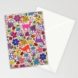 Peruvian Llamas Stationery Cards