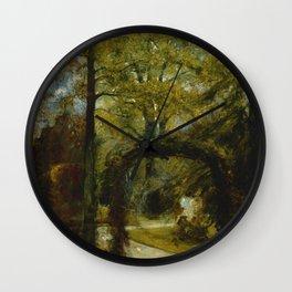 "John Constable ""Parkfield Place, near Ipswich"" Wall Clock"