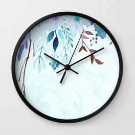 Wall of B.Flowers Wall Clock