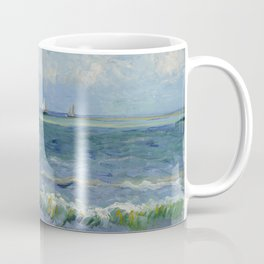 Seascape near Les Saintes-Maries-de-la-Mer Coffee Mug