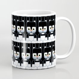 Black Bunny Rabbit - Super Cute Animals Coffee Mug