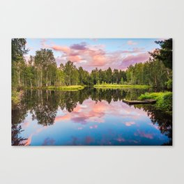 End of the summer day Canvas Print